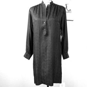 Trina Turk Black jacquard Silk Short Dress Size 0